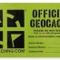 poser logbook officiel geocaching