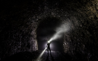 exploration lampe torche geocaching