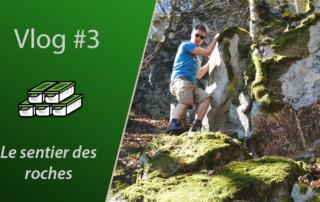 Geocaching vlog vidéo - Le sentier des roches