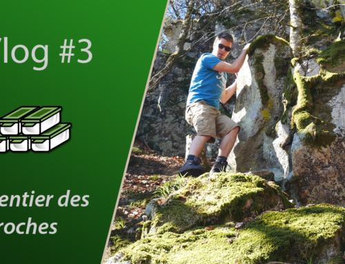 [Geocaching vlog #3] Le Sentier des Roches