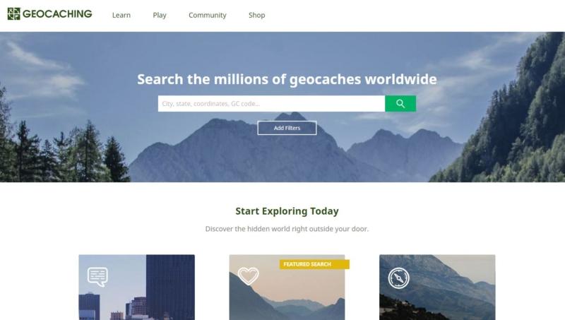 Top des améliorations geocaching.com